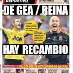 Mundo Deportivo: De Gea/Reina, il ricambio