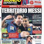 Mundo Deportivo: Territorio Messi