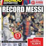 Mundo Deportivo: Record Messi