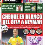 Mundo Deportivo: Assegno in bianco del City a Neymar