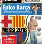 Mundo Deportivo: Messi 2018