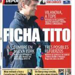 Mundo Deportivo: Ficha Tito