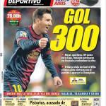 Mundo Deportivo: 300 gol