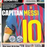 Mundo Deportivo: Capitan Messi