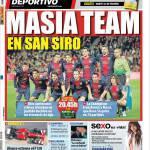 Mundo Deportivo: Masia team a San Siro