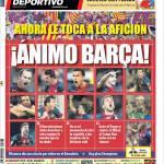 Mundo Deportivo: Animo Barça