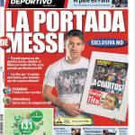 Mundo Deportivo: La portada de Messi