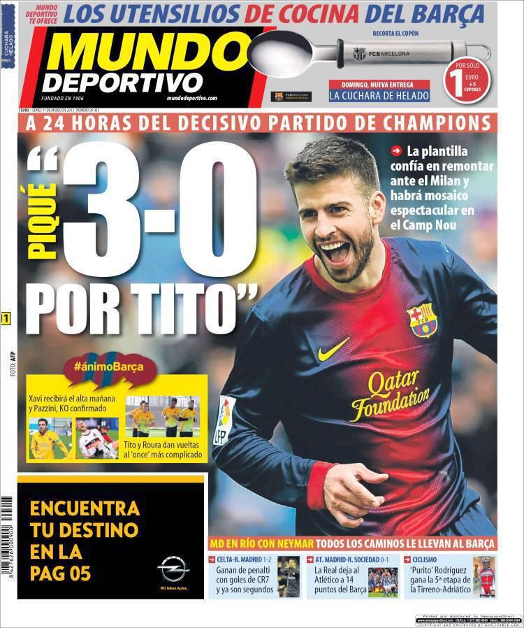 mundodeportivo.750309 Mundo Deportivo: 3 a 0 per Tito