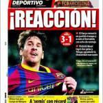 El Mundo Deportivo: Reaccion