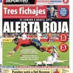 Mundo Deportivo: Allarme Roja