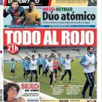 Mundo Deportivo: Messi-Neymar, duello atomico