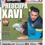 Mundo Deportivo: Preoccupa Xavi
