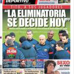 """Mundo Deportivo: """"La qualificazione si deciderà oggi"""""""