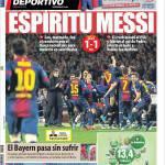 Mundo Deportivo: Spirito Messi