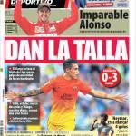 Mundo Deportivo: Essere all'altezza