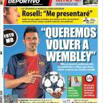 "Mundo Deportivo: ""Vogliamo arrivare a Wembley"""