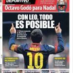 Mundo Deportivo: Con Leo tutto è possibile