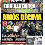 Mundo Deportivo: Orgoglio Barcellona