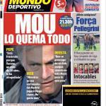Mundo Deportivo: Mou brucia tutto