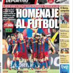 Mundo Deportivo: Omaggio al calcio