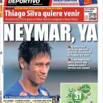 Mundo Deportivo: Thiago Silva vuole venire