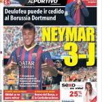 Mundo Deportivo: Neymar 3 J