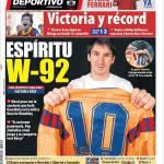 Mundo Deportivo, Spirito da Wembley 92