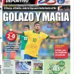 Mundo Deportivo: Golazo e magia