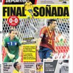 Mundo Deportivo: Finale sudata