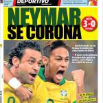 Mundo Deportivo: Neymar si incorona
