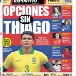 Mundo Deportivo: Opzioni senza Thiago