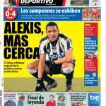 Mundo Deportivo: Alexis, più vicino
