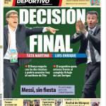 Mundo Deportivo: Decisione finale