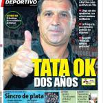 Mundo Deportivo: Tata ok due anni