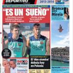 """Mundo Deportivo: """"E' un sogno"""""""