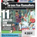 Mundo Deportivo: 11 minuti con Neymar