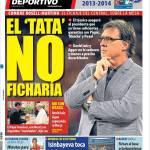 Mundo Deportivo: El Tata non acquisterà
