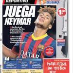 Mundo Deportivo: Gioca Neymar