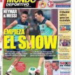 Mundo Deportivo: Inizia lo spettacolo