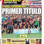 Mundo Deportivo: Primo titolo