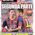 Mundo Deportivo: Messi-Neymar seconda parte