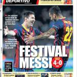 Mundo Deportivo: Festival Messi