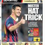Mundo Deportivo: Mister Hat Trick