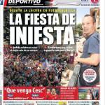 Mundo Deportivo, La festa di Iniesta