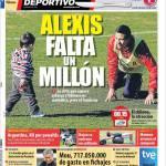 Mundo Deportivo, Per Alexis Sanchez manca un milione