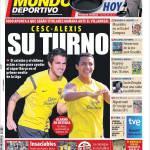 Mundo Deportivo: Cesc e Alexis, è il vostro turno