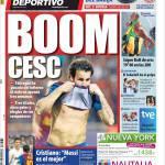 Mundo Deportivo: Boom Cesc