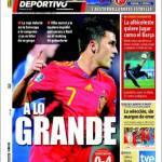 El Mundo Deportivo: Alla grande!