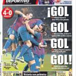 Mundo Deportivo: Gol gol gol gol!