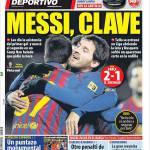 Mundo Deportivo, Messi chiave